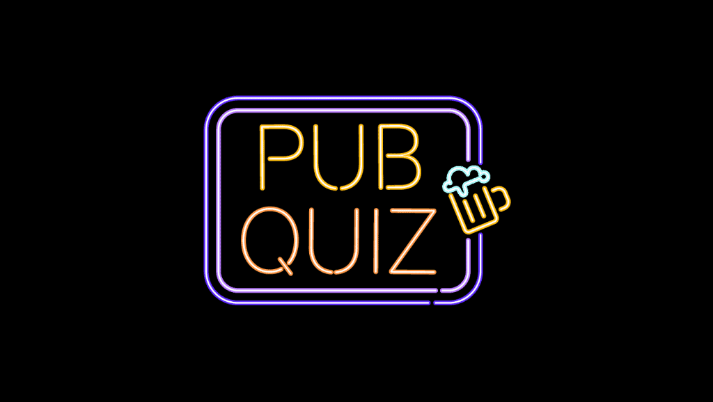 A set of themes is crucial for your virtual pub quiz