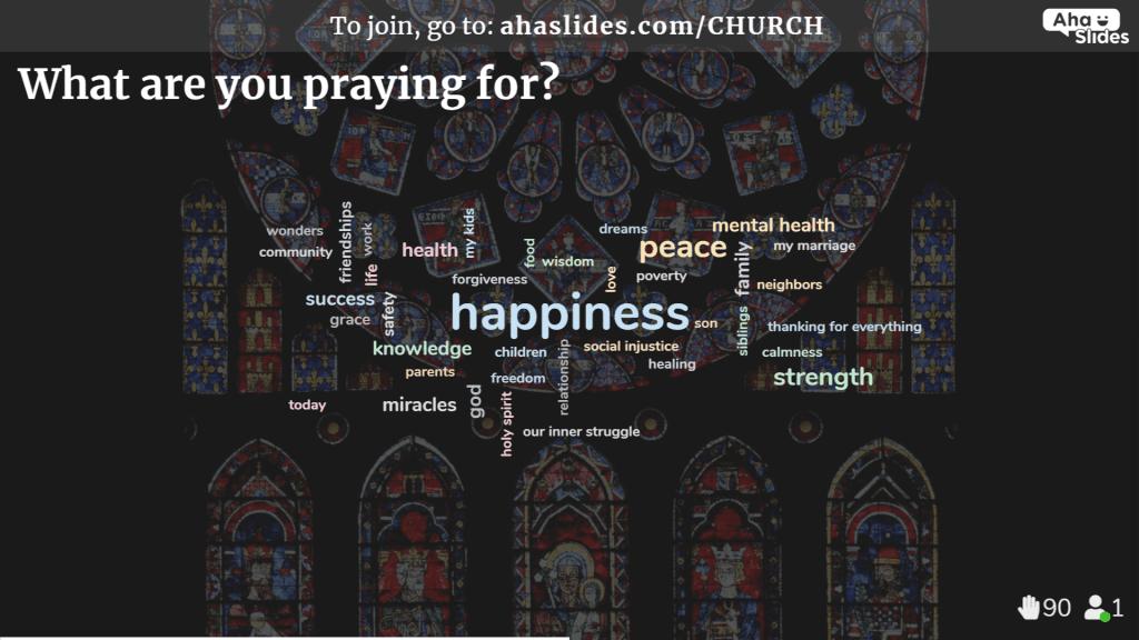 Interactive Online Church Service Livestream