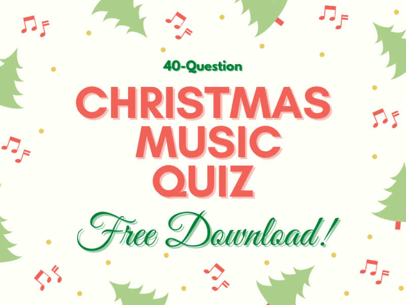 Free Christmas Music Quiz 2020 (40 Questions + Answers with Sound)