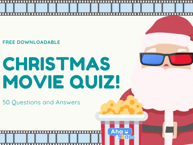 Christmas Movie Quiz 2020: Free Download + Interactive Software (50 Questions & Answers)