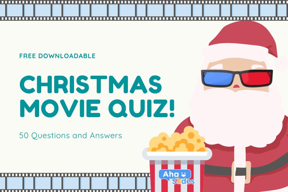 Weihnachtsfilm-Quiz 2020: Kostenloser Download + Interaktive Software (50 Fragen und Antworten)
