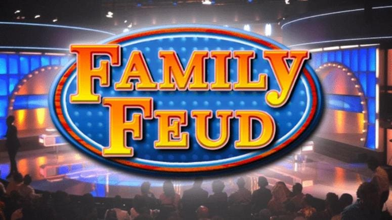 Family Feud title sequence.