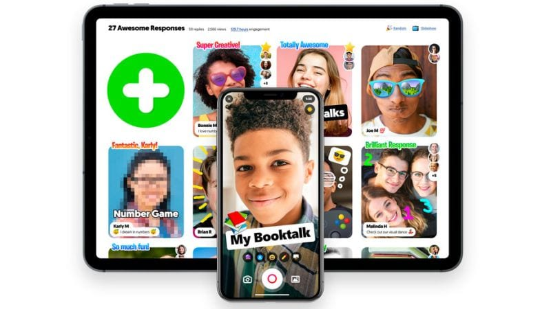 Using flipgrid to make discussion topics and receive video responses from your students.