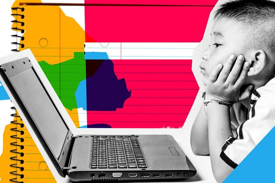 It's harder to teach students one-on-one when working in a live virtual classroom.