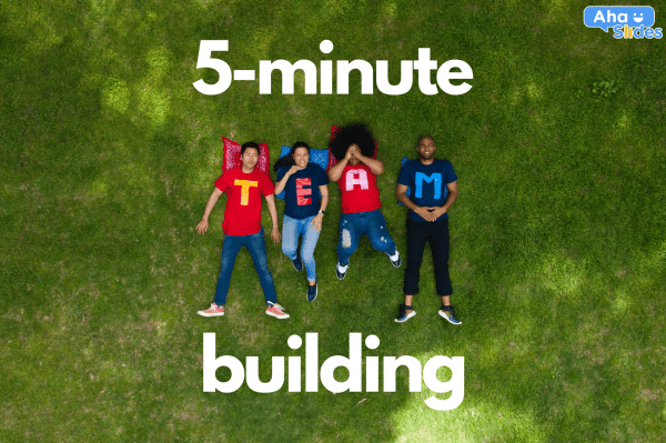 5-Minute Team Building Activities: 28 Quickies for Detached Colleagues and Students