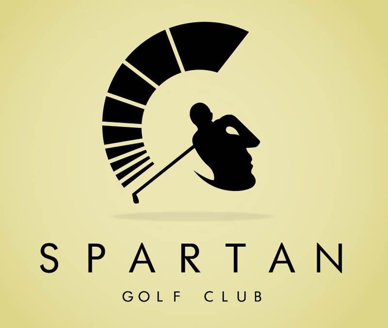 Logo for Spartan Golf Club by Richard Fonteneau.