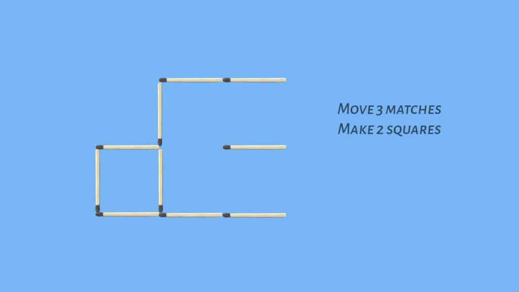 A mathematical matchstick puzzle