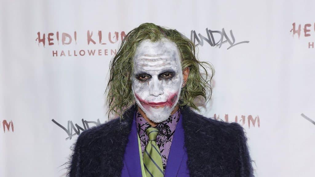 Lewis Hamilton as The Joker