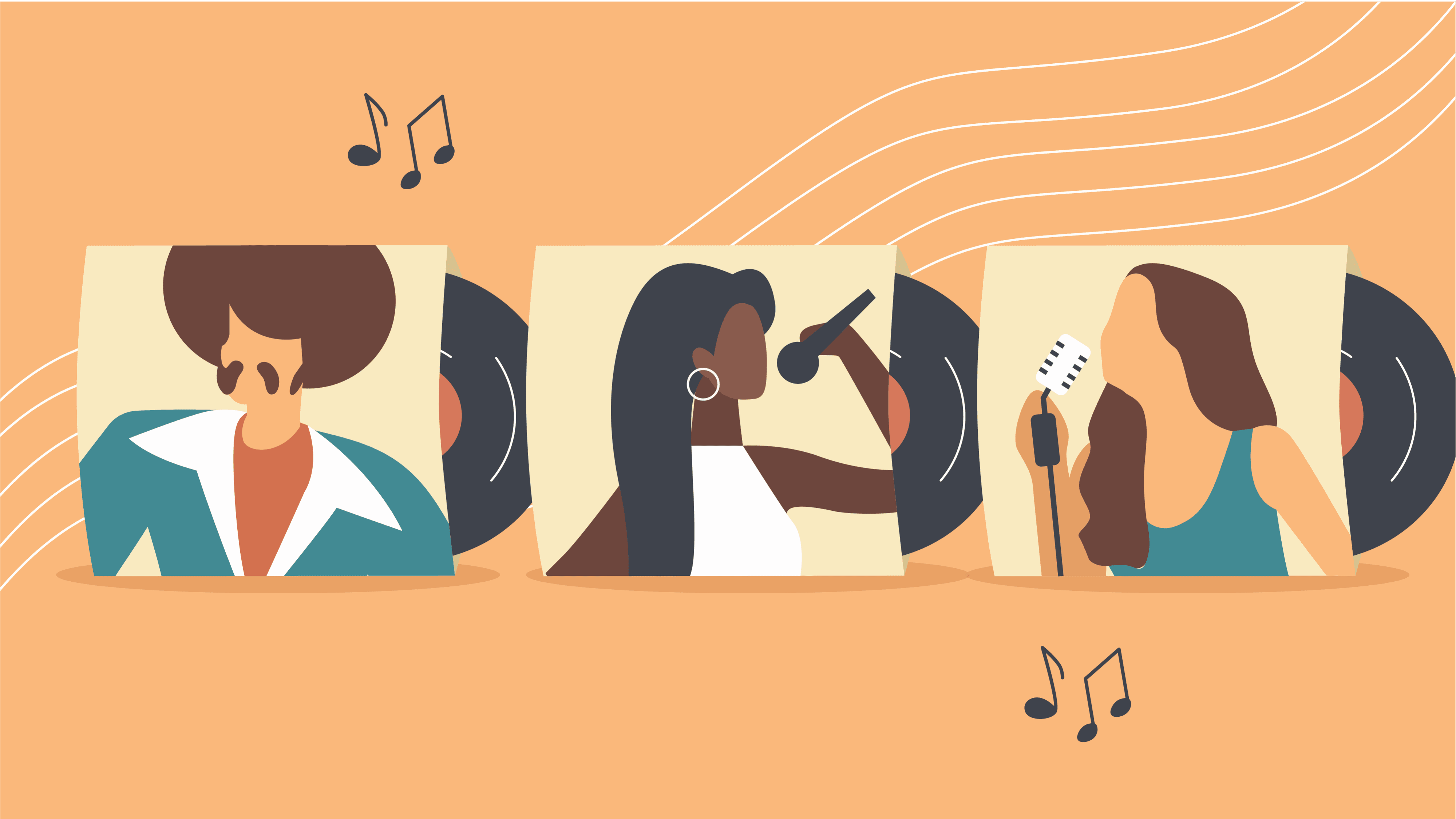 Thumbnail for the Pop Music quiz on AhaSlides